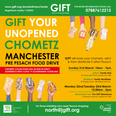 Chometz Food Collections in Manchester