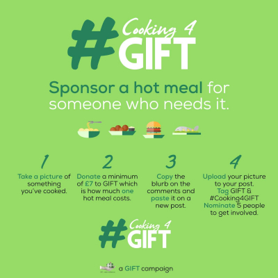 #cooking4gift