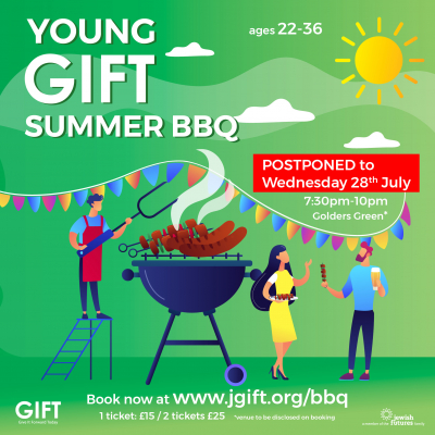 GIFT Summer BBQ for YPs