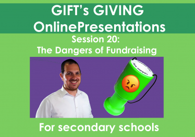The Dangers of Fundraising (Duration 14 minutes)