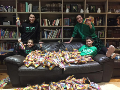 GIFT's initiatives inspire thousands this Purim