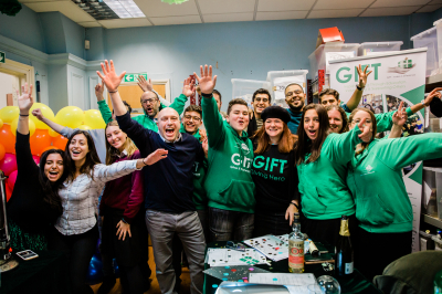 GIFT smashes a 36 hour matching campaign for the Giving Hub
