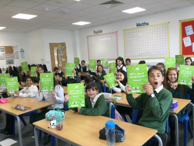 GIFTs 'gift of giving' course is a gift to hundreds of primary school pupils