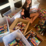 Maytal Field's fundraiser - stationery for GIFT kids