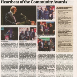 Claude Littner Hosts Fifth Annual JVN Heartbear of the Community Awards